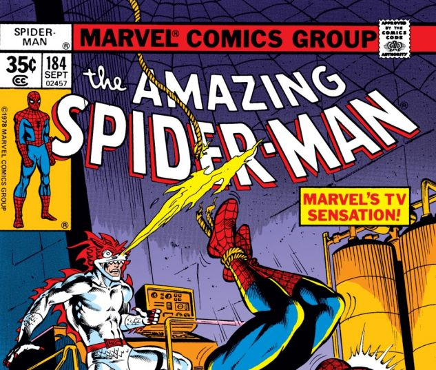 Amazing Spider-Man (1963) #184 Cover