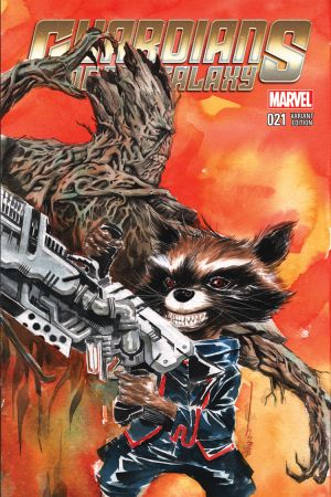 Guardians of the Galaxy (2013) #21 (Nguyen Rr&G Variant)