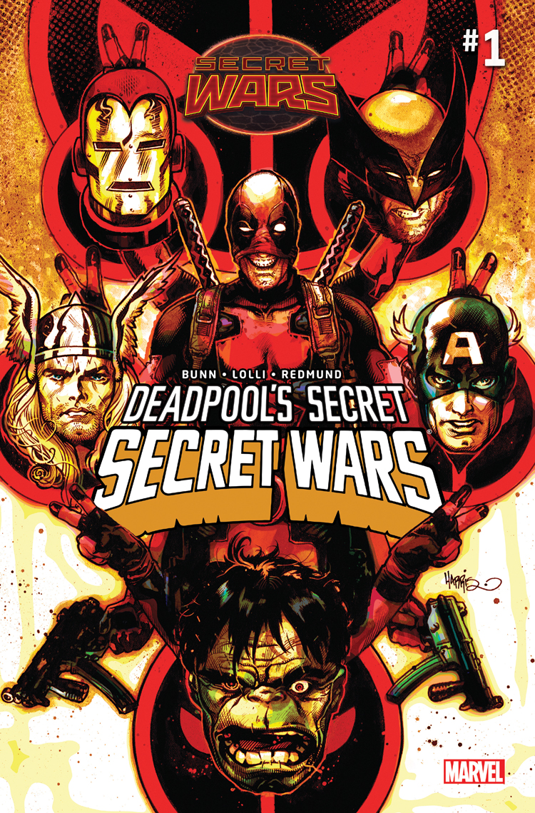 Deadpool's Secret Secret Wars (2015) #1