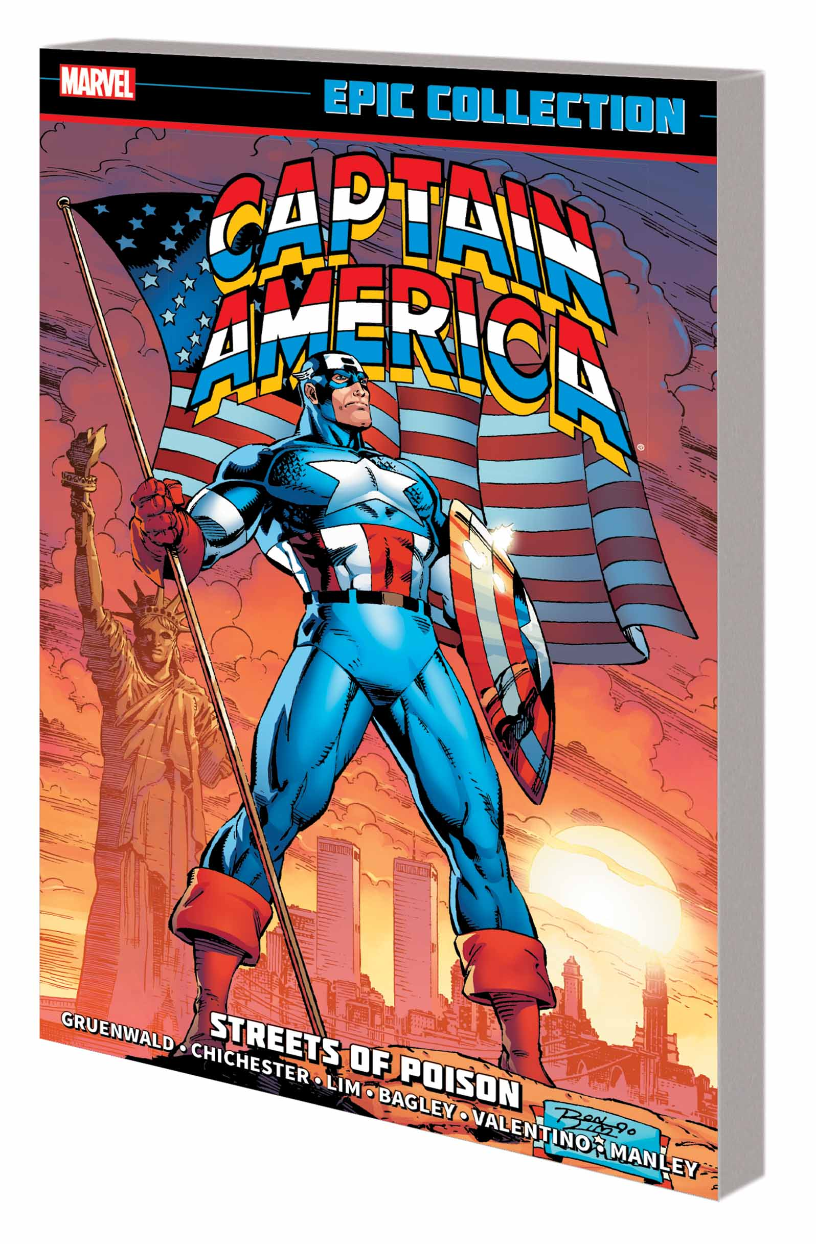 Captain America Epic Collection: Streets of Poison (Trade Paperback)