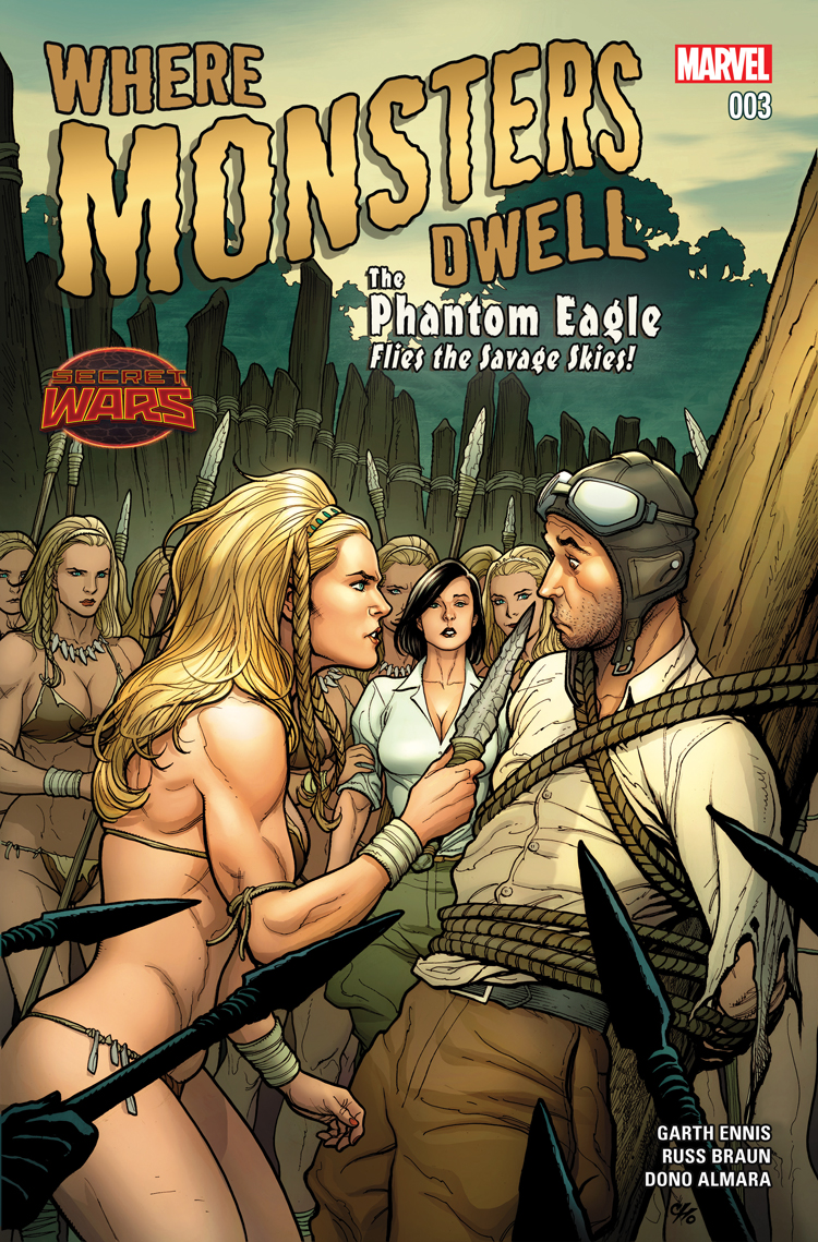 Where Monsters Dwell (2015) #3