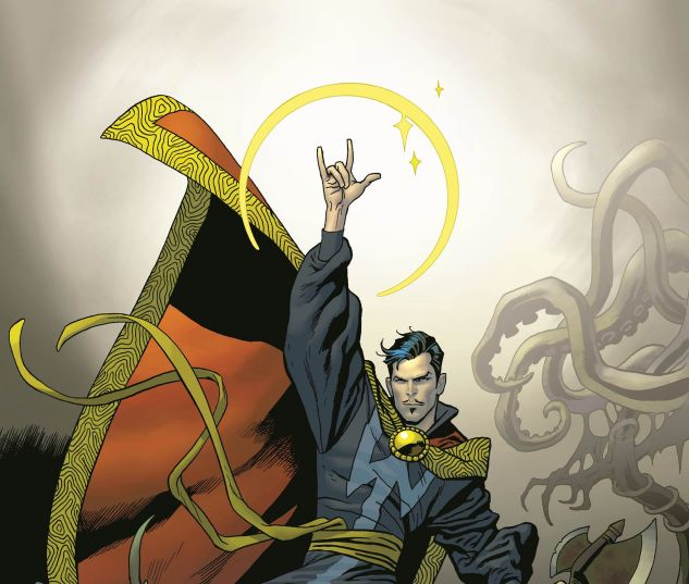 Doctor Strange (2015) #1 variant cover by Kevin Nowlan