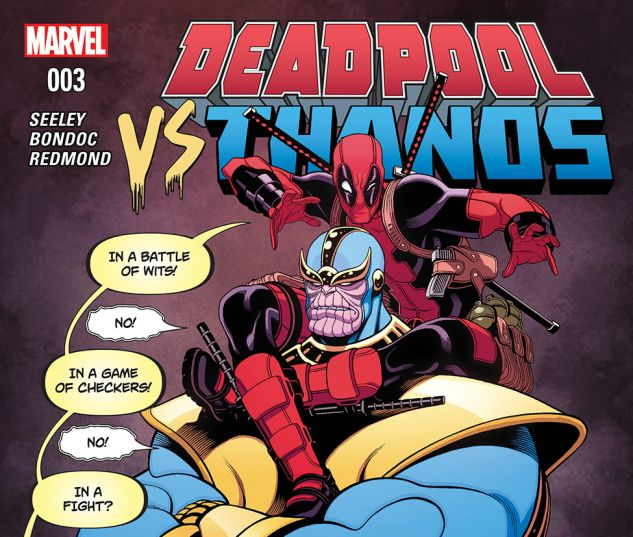 DEADPOOL VS. THANOS 3 (WITH DIGITAL CODE)