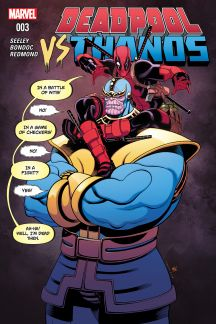Deadpool Vs. Thanos #3