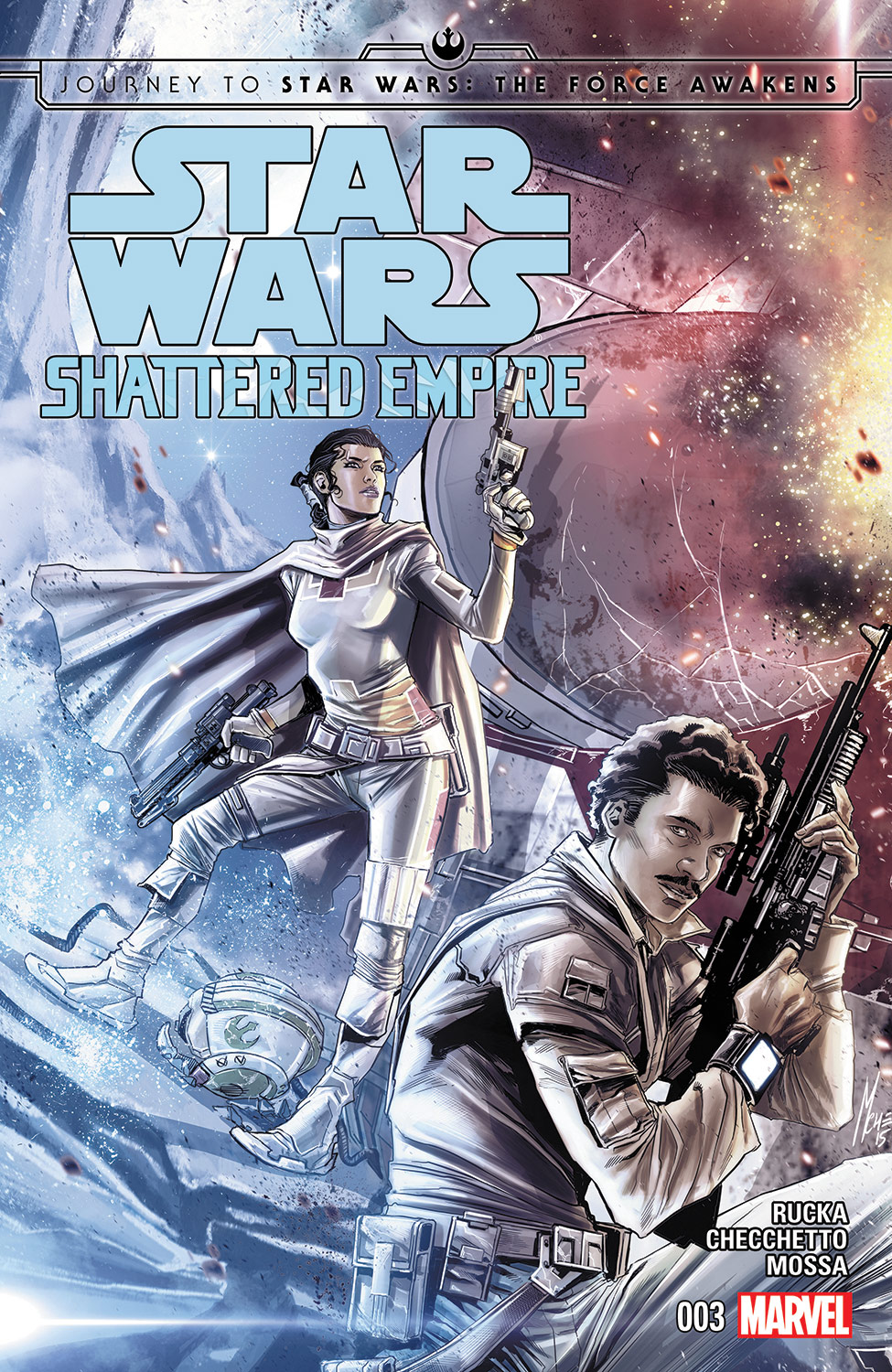 Journey To Star Wars: The Force Awakens - Shattered Empire (2015) #3