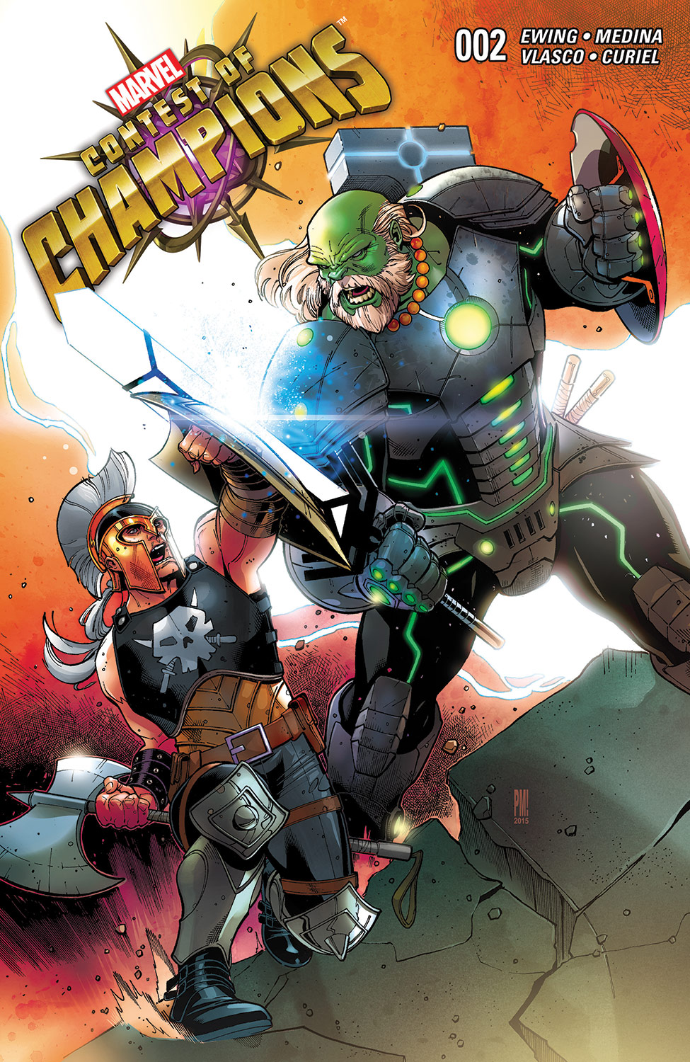 Contest of Champions (2015) #2
