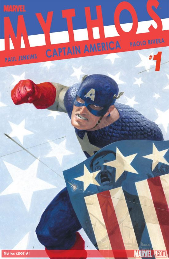 Mythos: Captain America (2008) #1