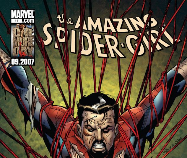 AMAZING SPIDER-GIRL (2006) #11 Cover