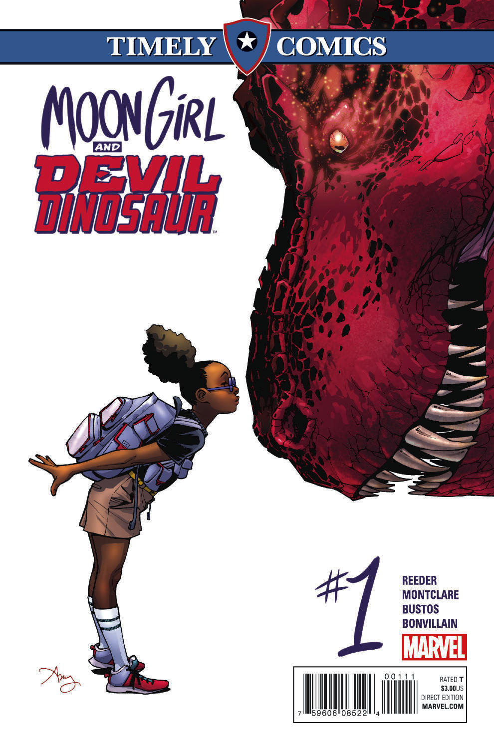 Timely Comics: Moon Girl and Devil Dinosaur (2016) #1