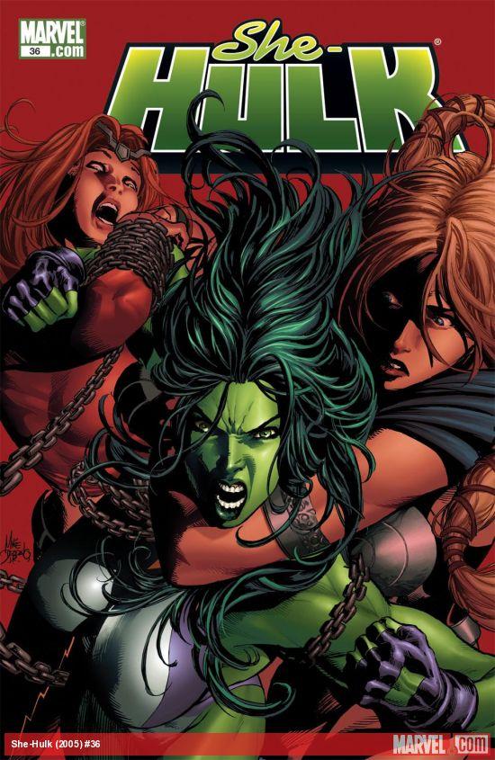 She-Hulk (2005) #36