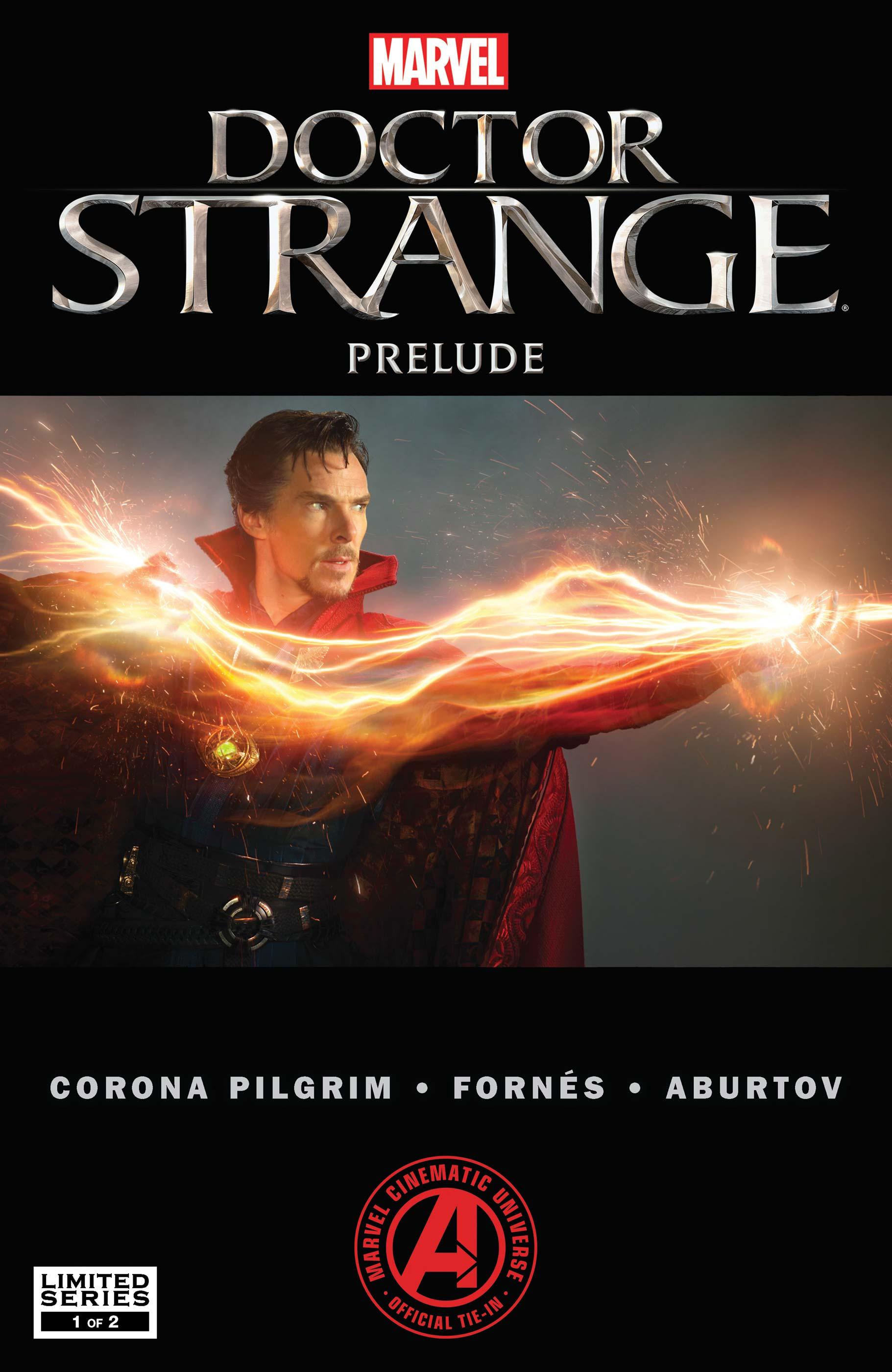 Marvel's Doctor Strange Prelude (2016) #1
