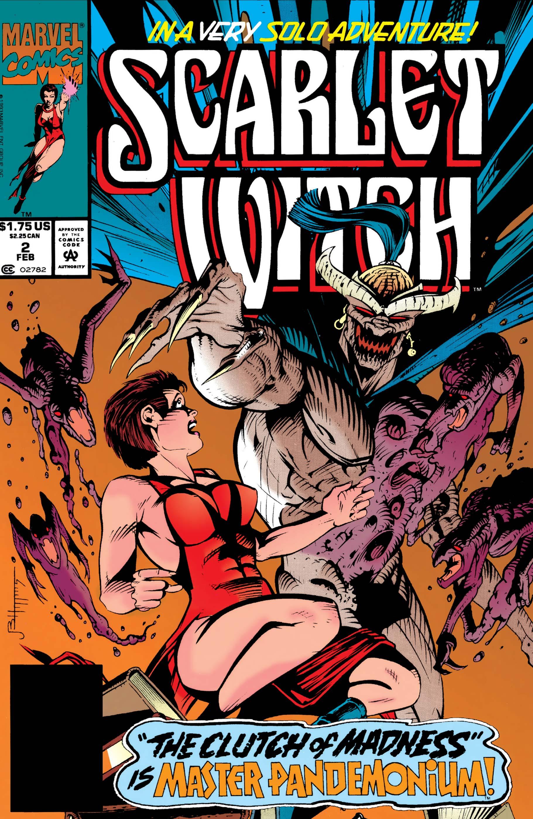 Scarlet Witch (1994) #2