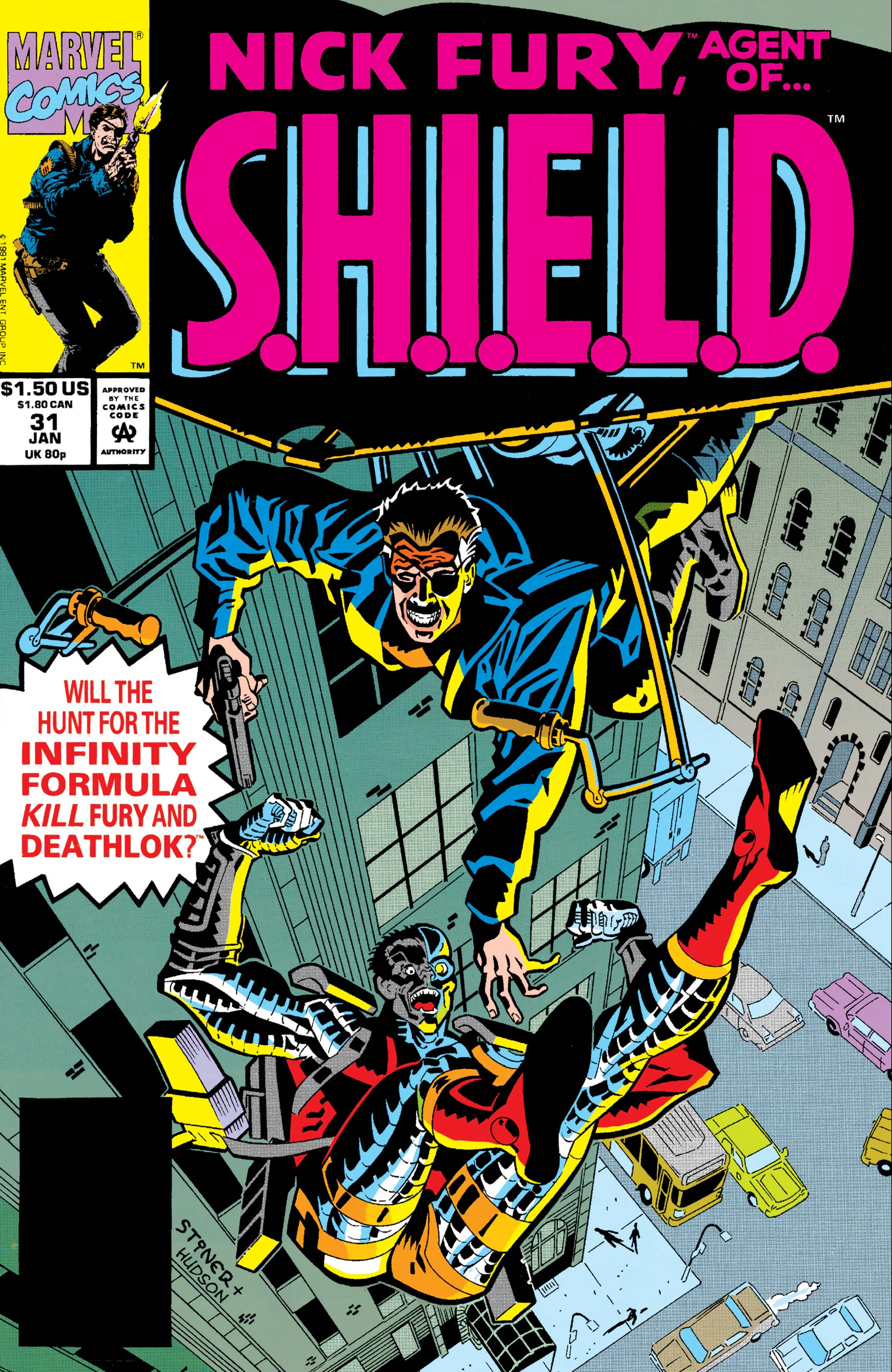 Nick Fury, Agent of S.H.I.E.L.D. (1989) #31