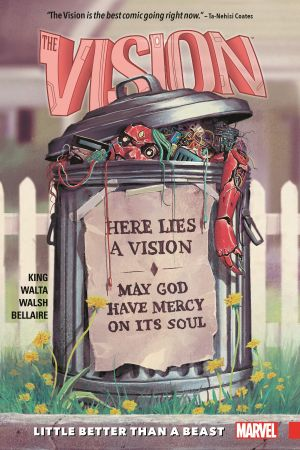 Vision Vol. 2: Little Better Than a Beast (Trade Paperback)