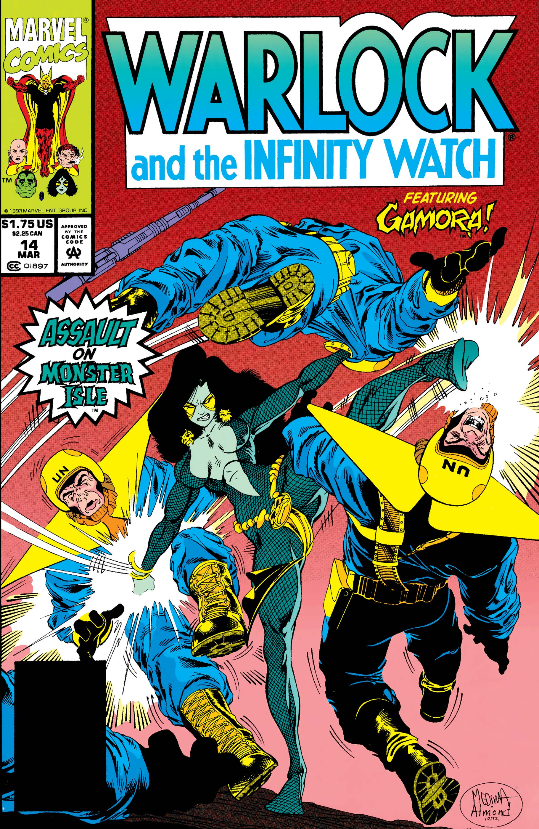 Warlock and the Infinity Watch (1992) #14
