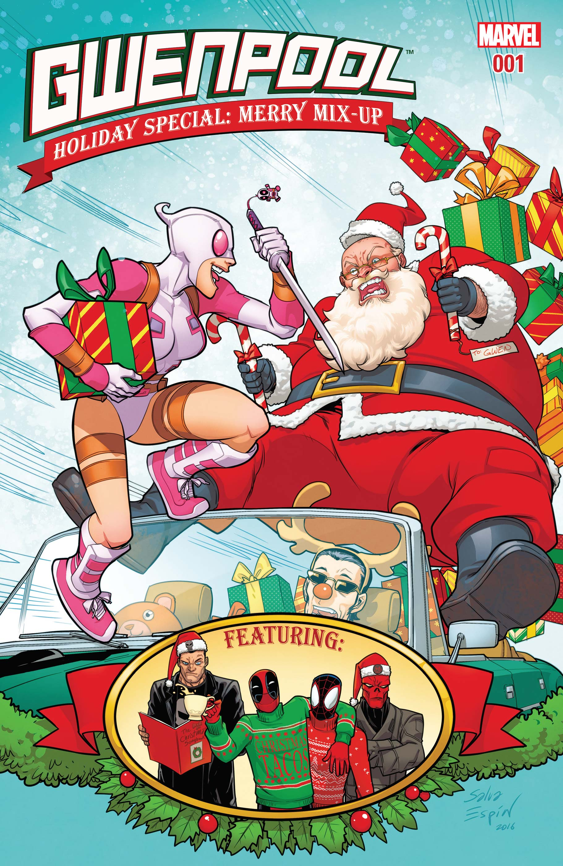 Gwenpool Holiday Special: Merry Mix-Up (2016) #1