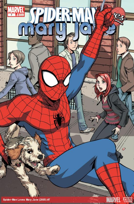 Spider-Man Loves Mary Jane (2005) #7