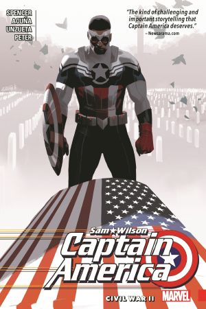 Captain America: Sam Wilson Vol. 3 - Civil War II (Trade Paperback)