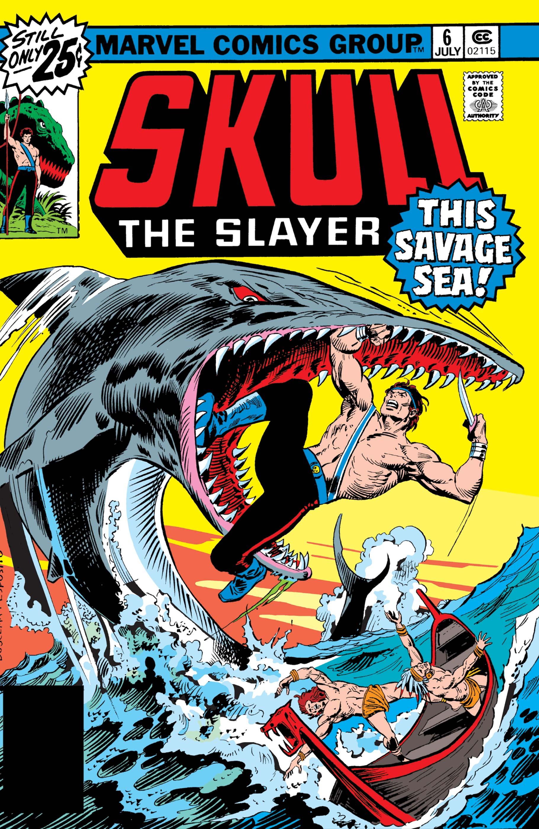 Skull the Slayer (1975) #6