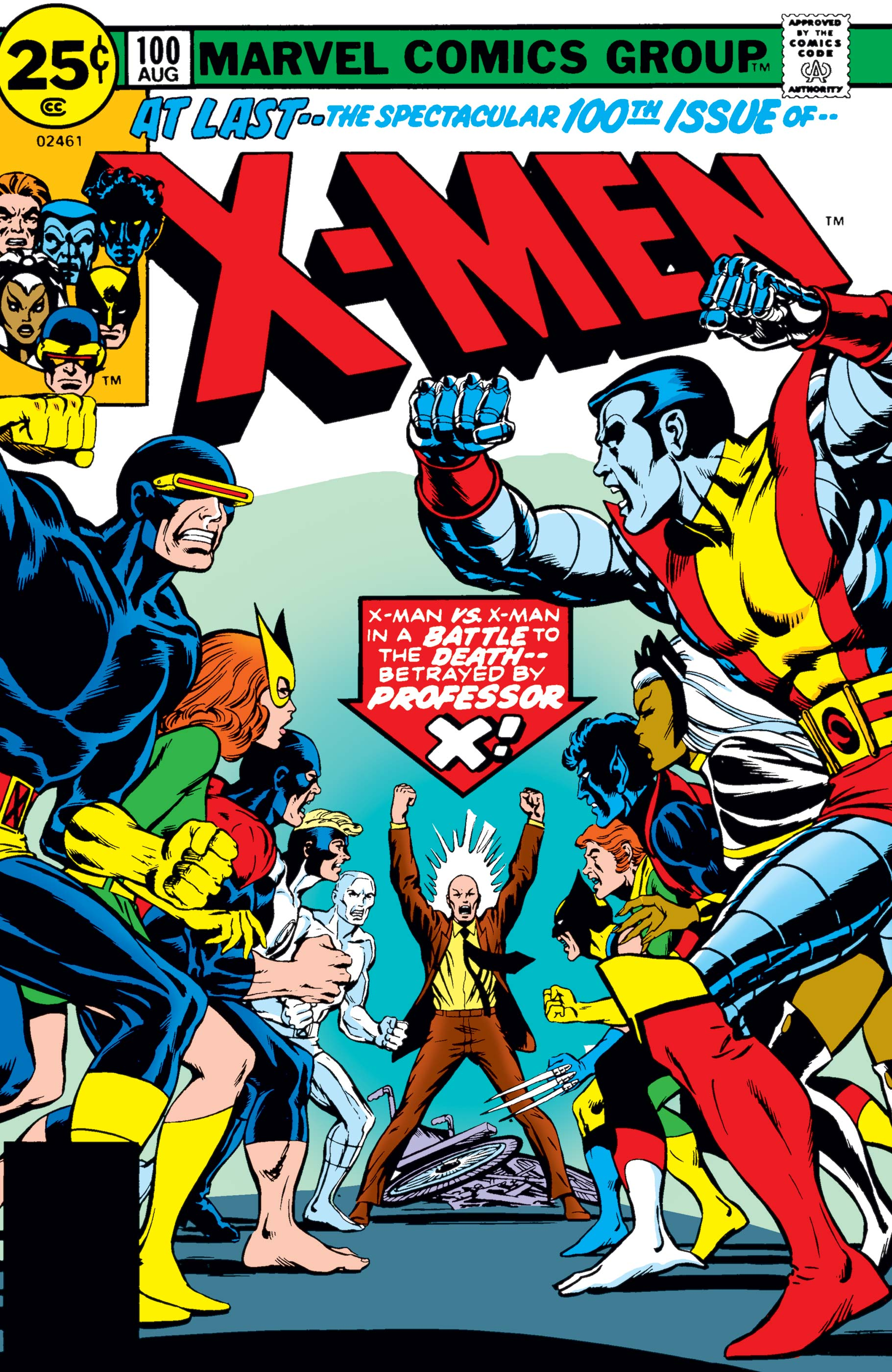 Uncanny X-Men (1963) #100