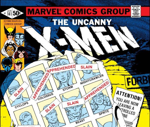 Uncanny X Men 1963 141
