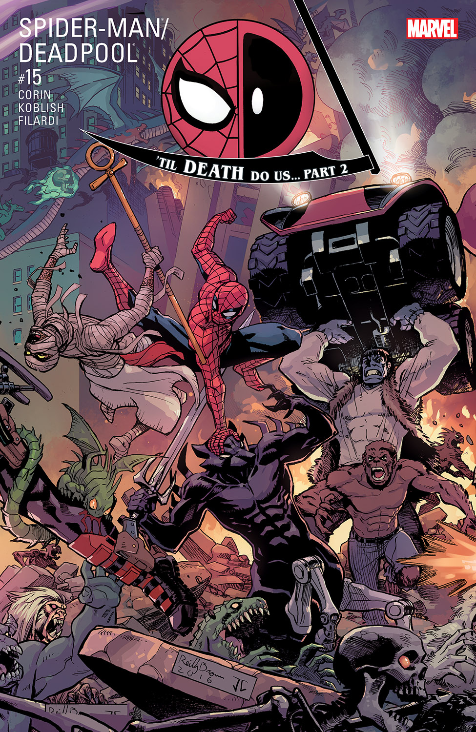 Spider-Man/Deadpool (2016) #15