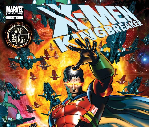 X-Men: Kingbreaker (2008) #1