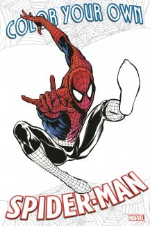 Color Your Own Spider-Man (Trade Paperback)