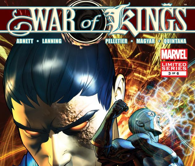 WAR OF KINGS (2009) #3