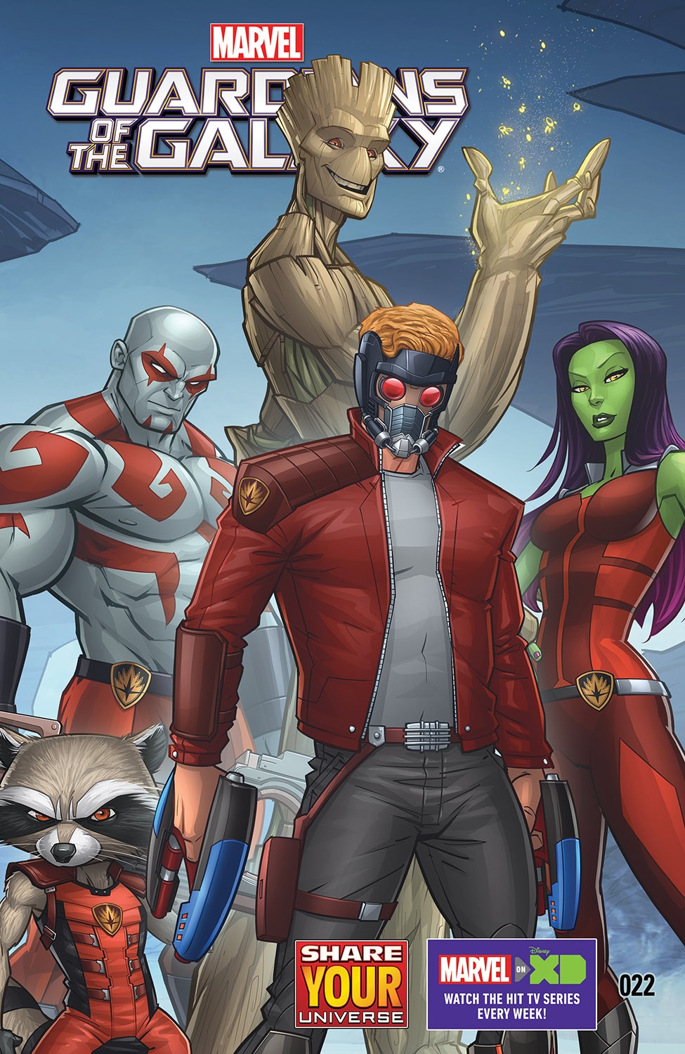 Marvel Universe Guardians of the Galaxy (2015) #22