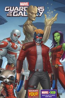 Marvel Universe Guardians of the Galaxy #22