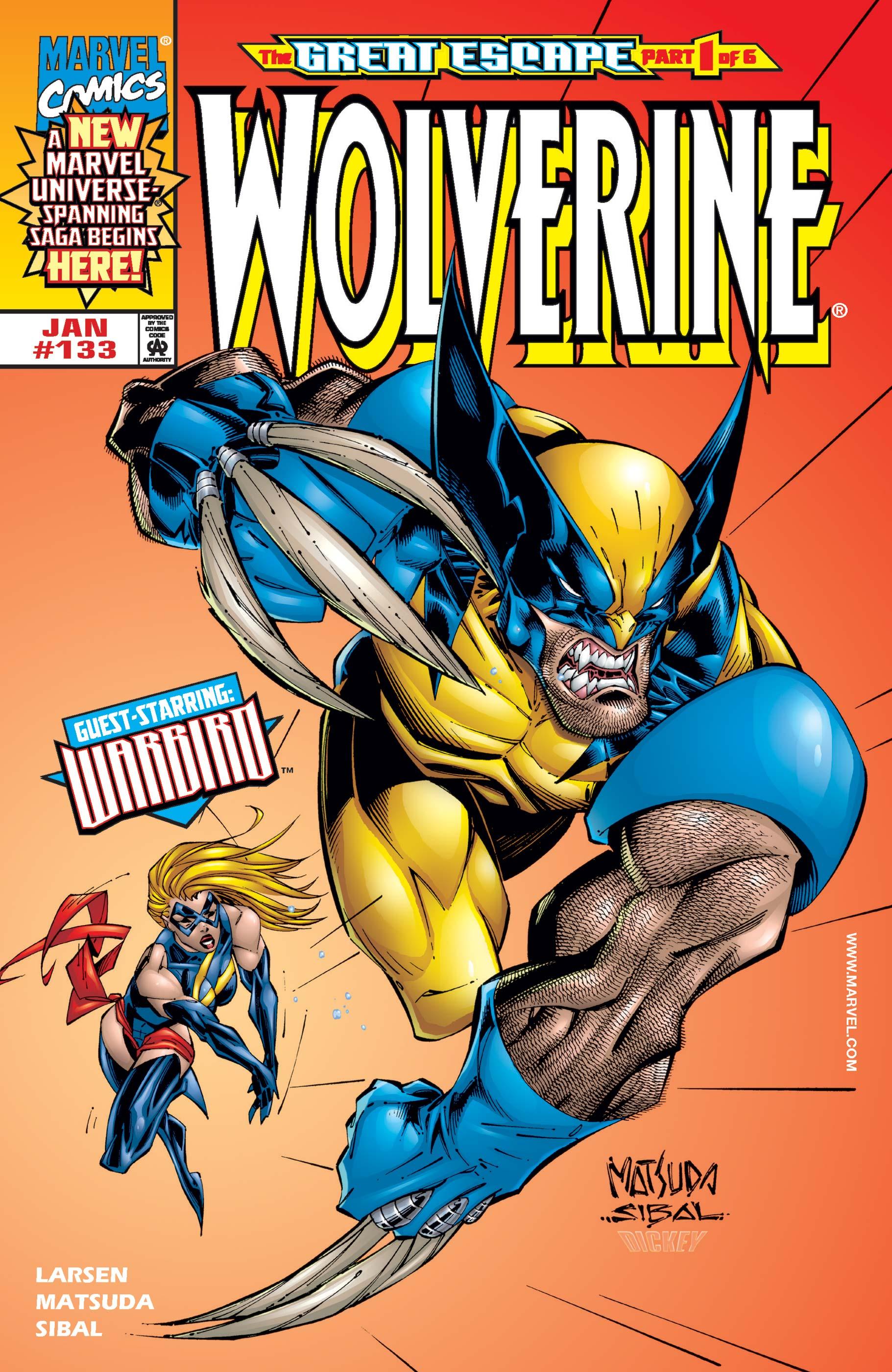 Wolverine (1988) #133