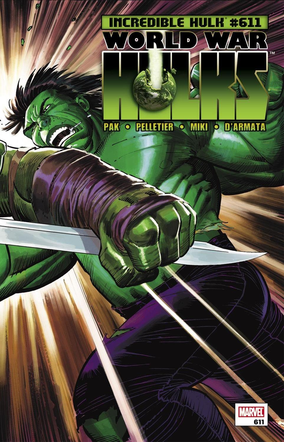Incredible Hulks (2009) #611
