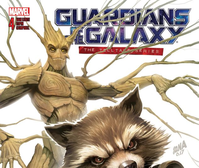 Cover for GUARDIANS OF THE GALAXY: TELLTALE GAMES 4