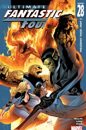 Ultimate Fantastic Four (2003) #28