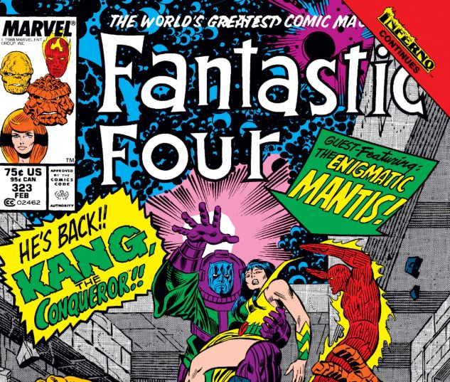 Fantastic Four (1961) #323
