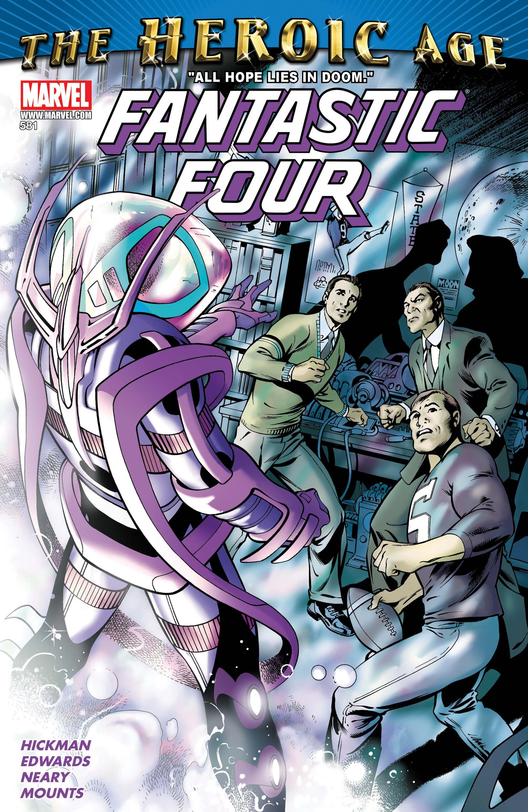 Fantastic Four (1998) #581