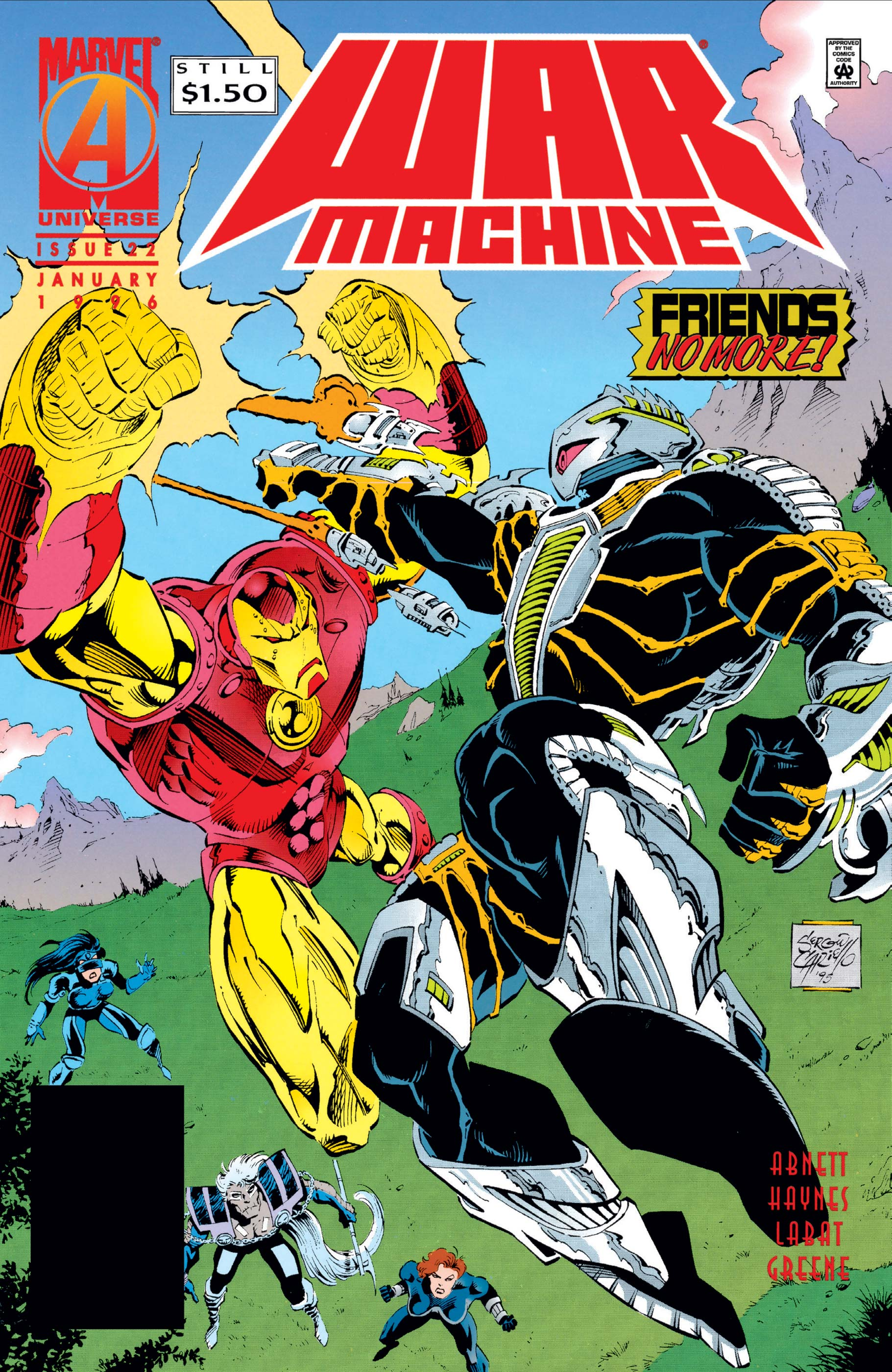 War Machine (1994) #22