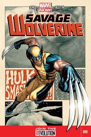 Savage Wolverine (2013) #5