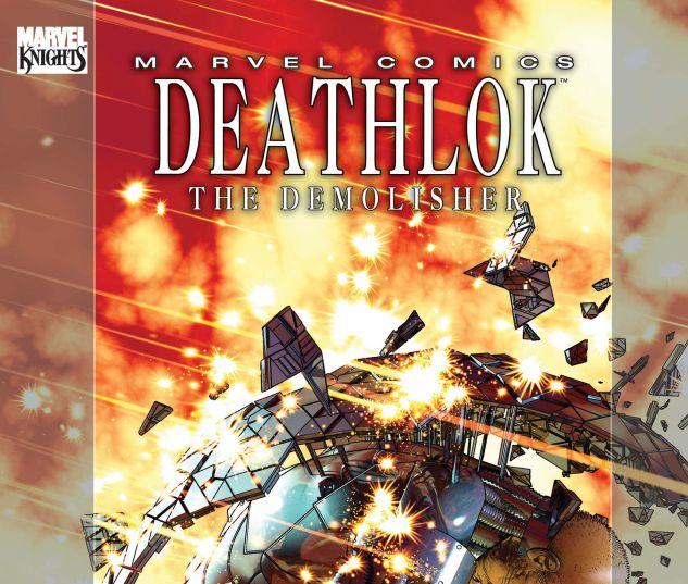 DEATHLOK #4 STANDARD COVER
