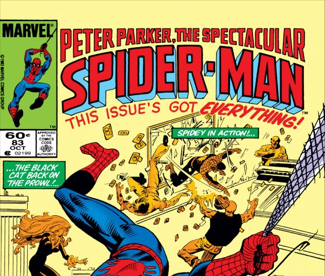 PETER PARKER, THE SPECTACULAR SPIDER-MAN (1976) #83