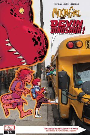 Moon Girl and Devil Dinosaur #34