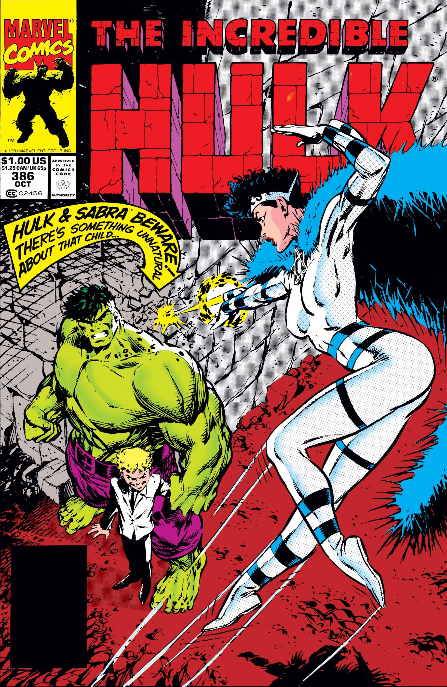 Incredible Hulk (1962) #386
