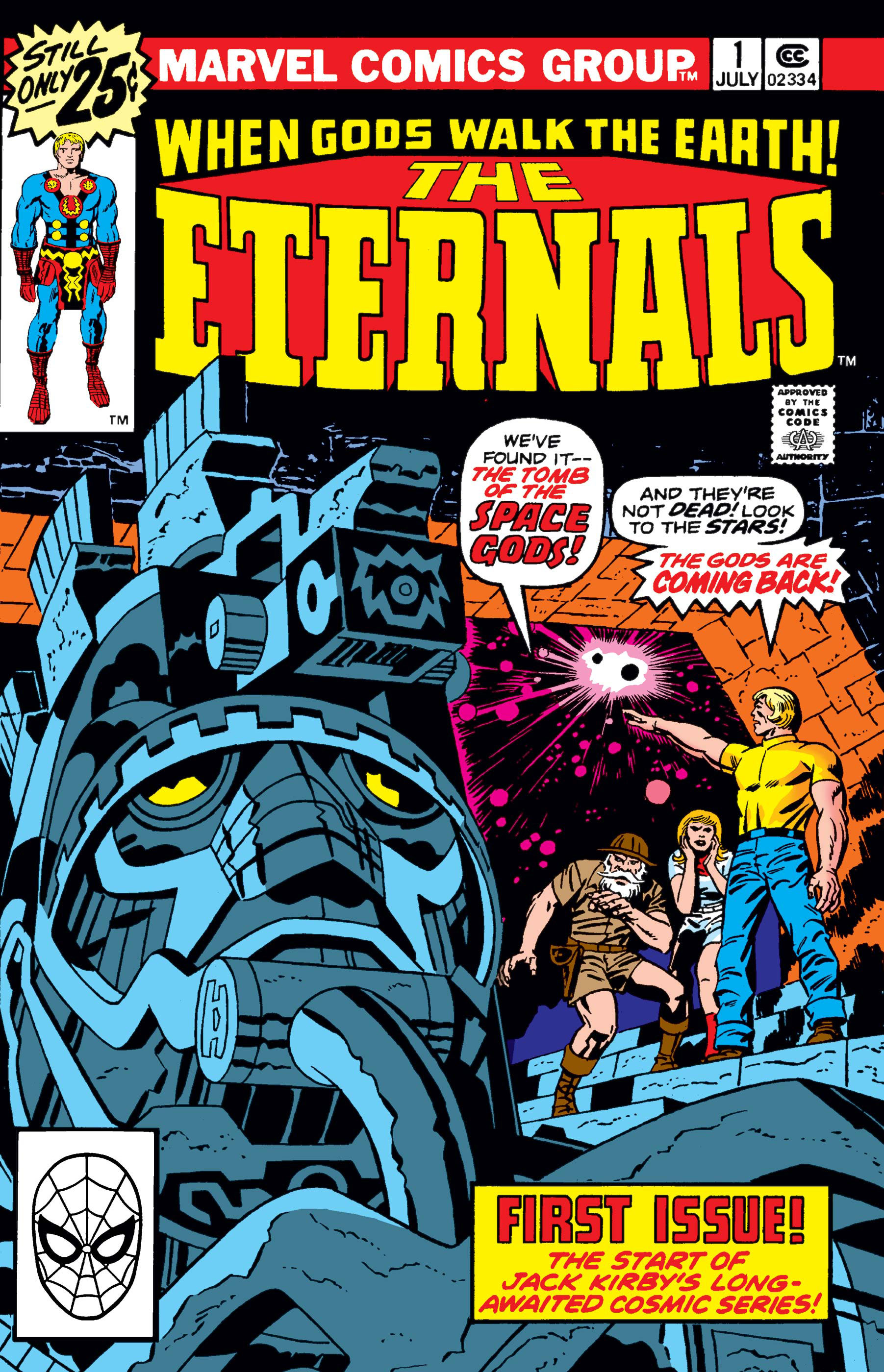 Eternals 1976 1 Comic Issues Marvel