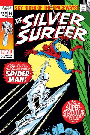 Silver Surfer Facsimile Edition (2019) #14