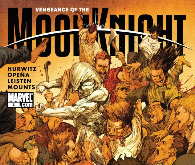 VENGEANCE OF THE MOON KNIGHT (2009) #4