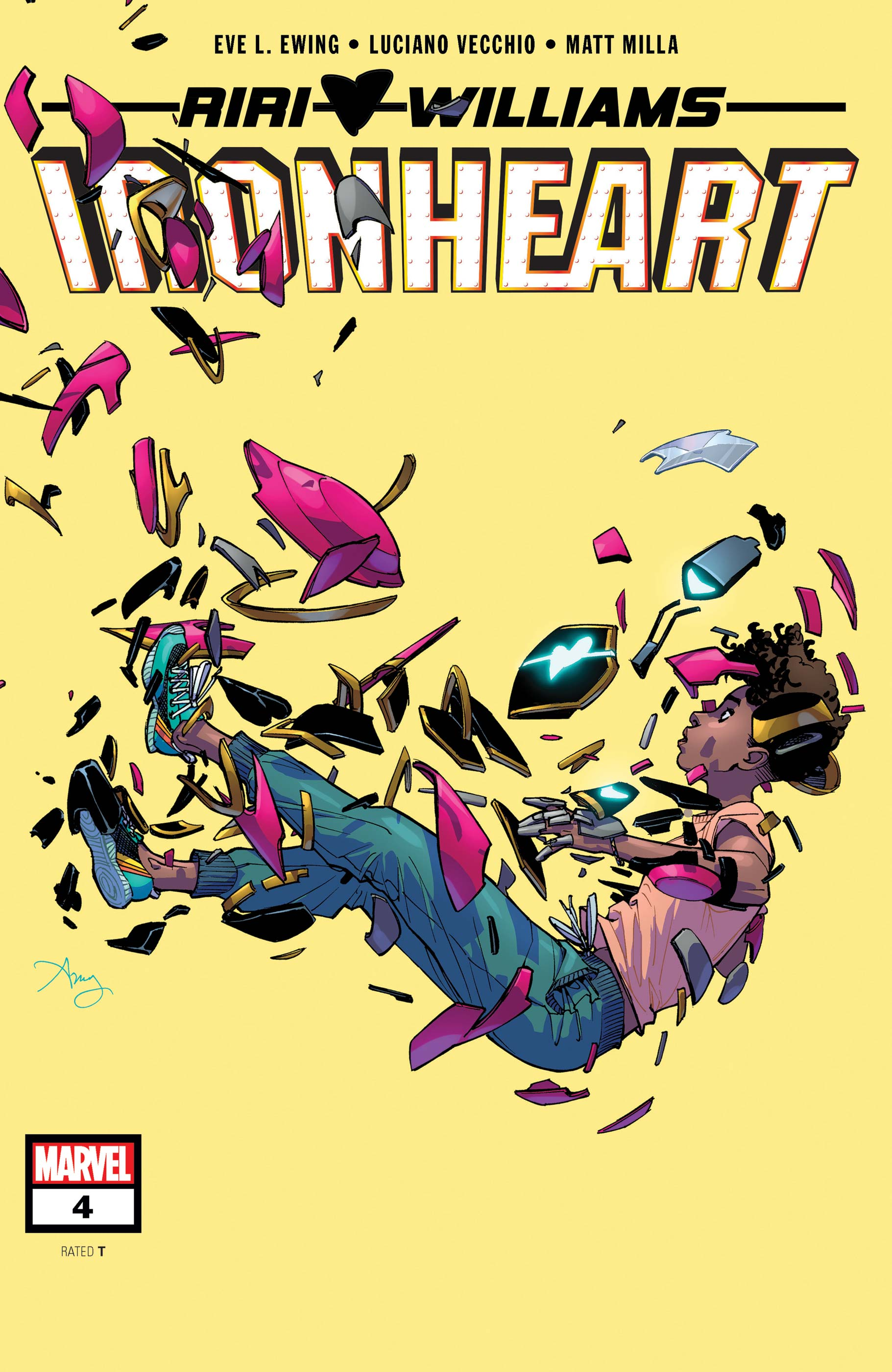 Ironheart (2018) #4
