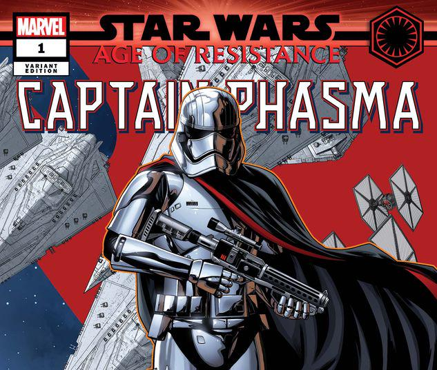 STAR WARS: AGE OF RESISTANCE - CAPTAIN PHASMA 1 MCKONE PUZZLE PIECE VARIANT #1