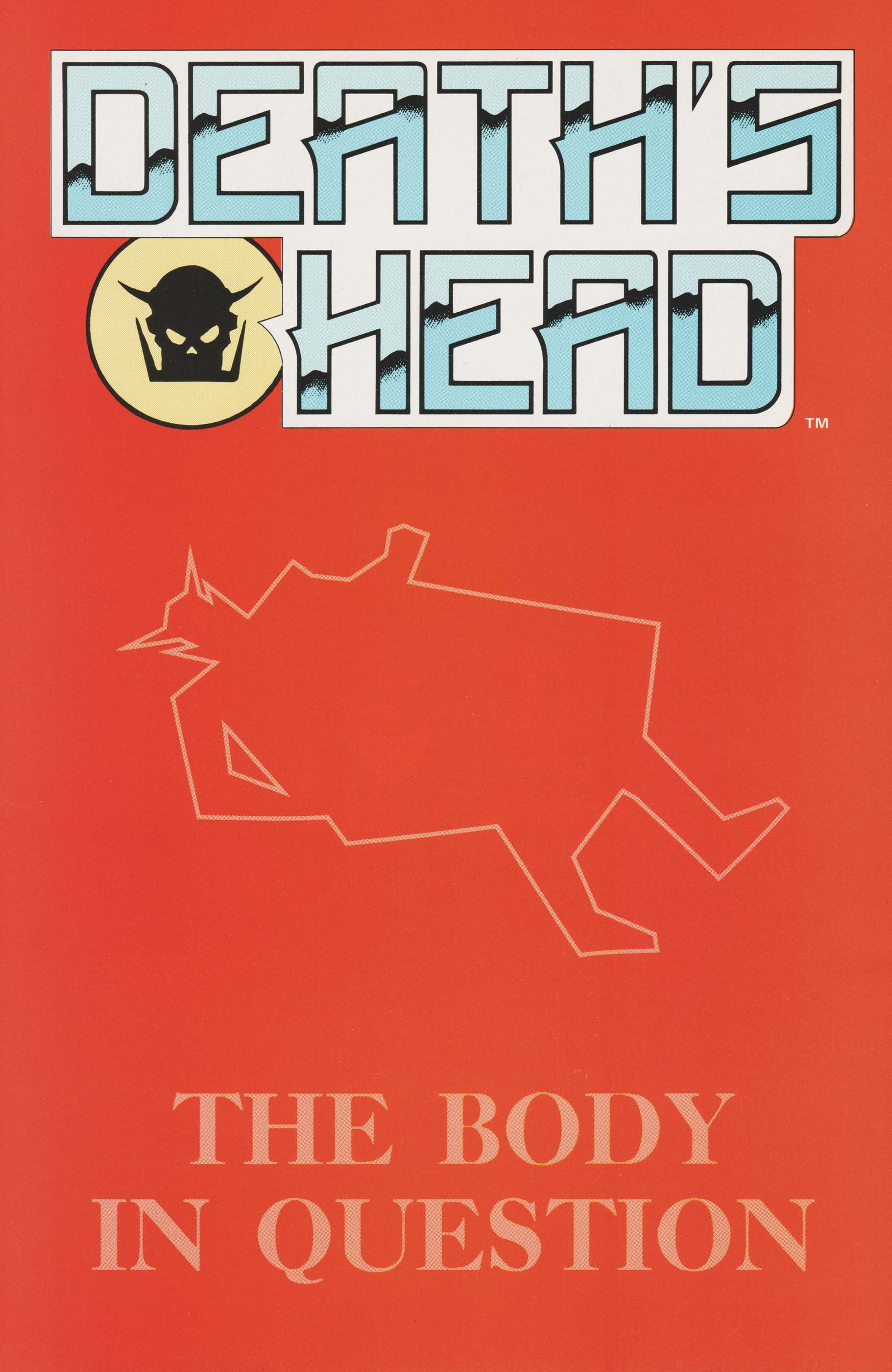 Death's Head: The Body In Question (1991) #1