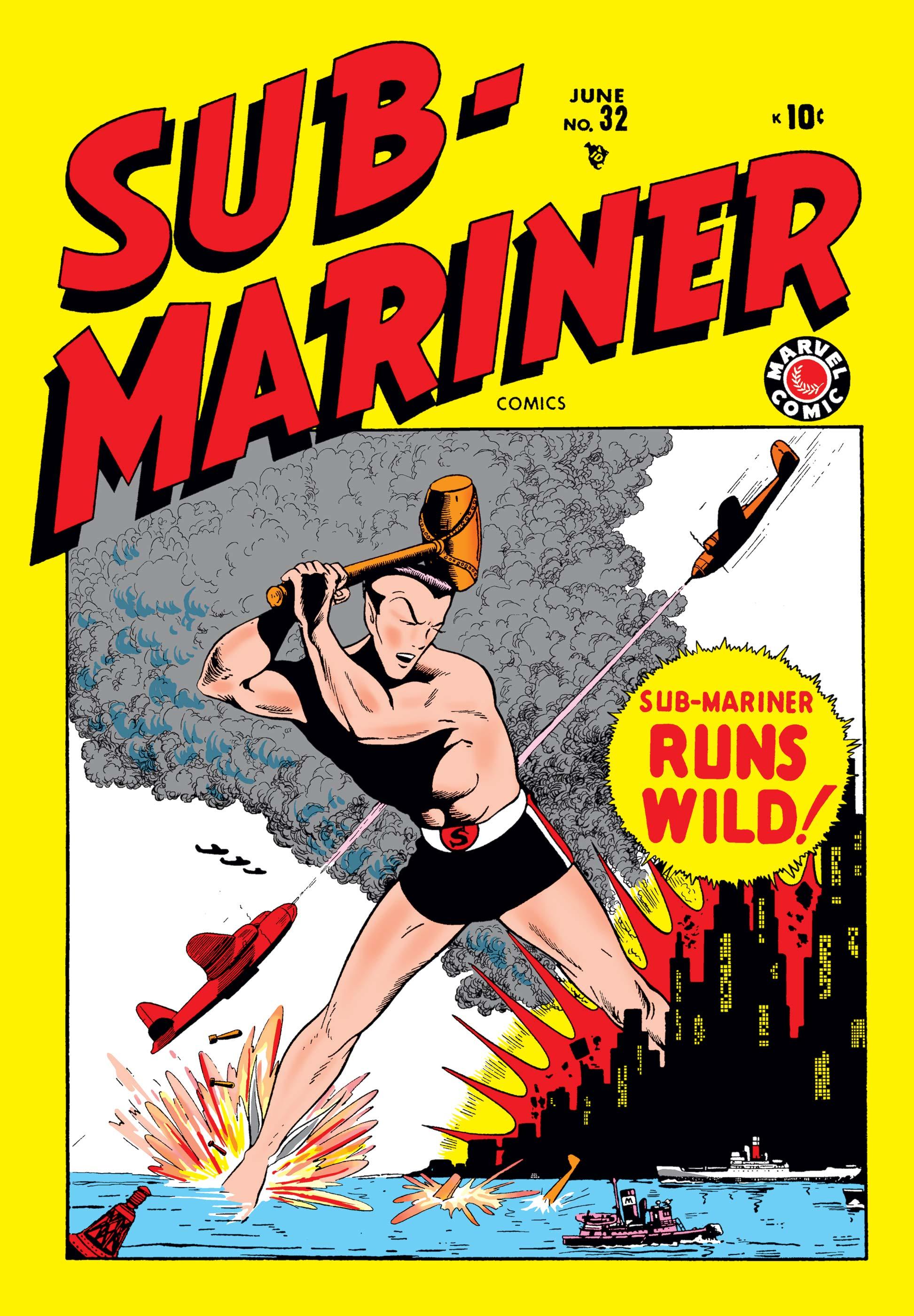 Sub-Mariner Comics (1941) #32